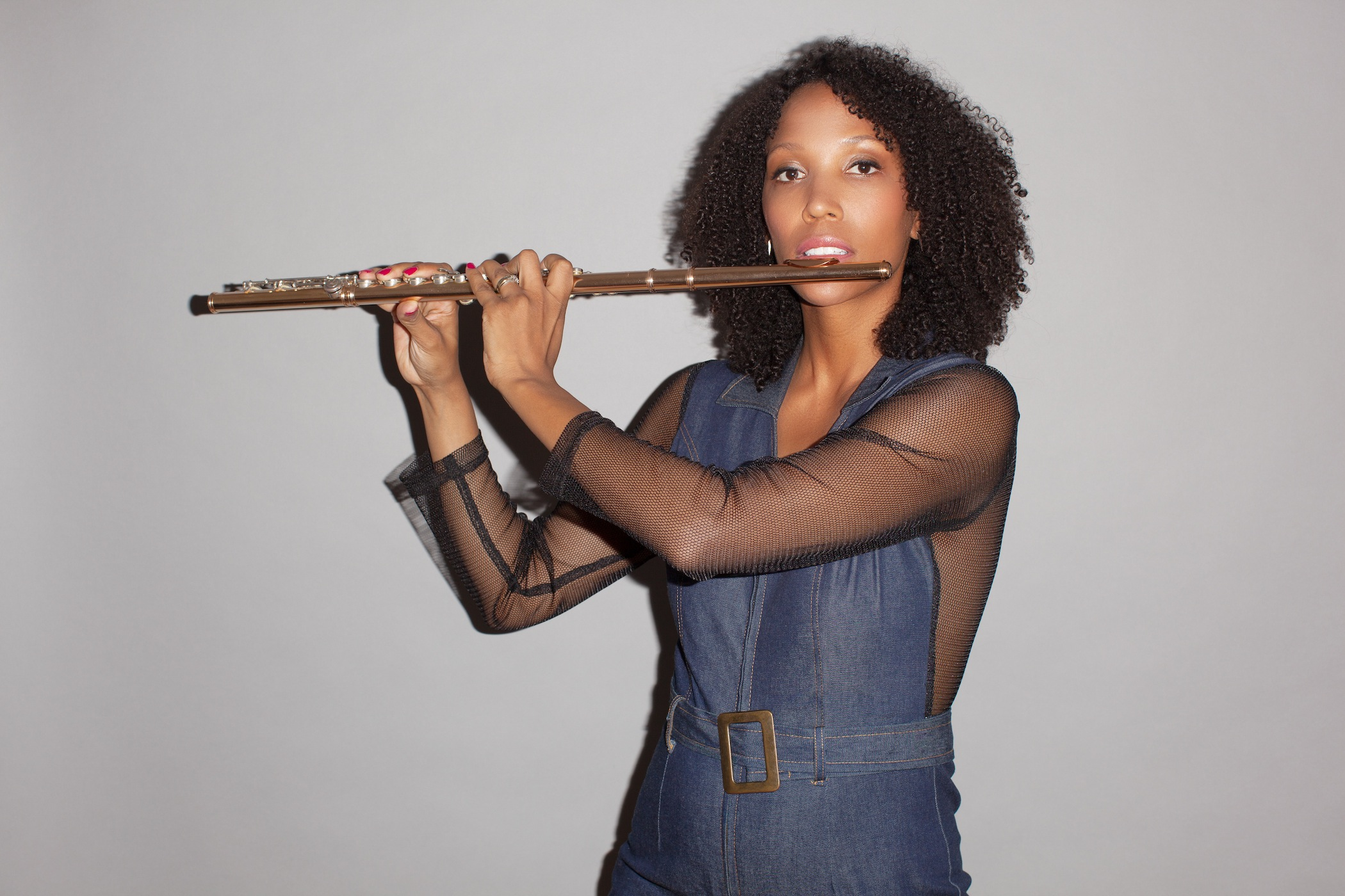 Flutist, composer and educator Allison Loggins-Hull